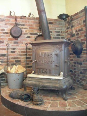 Red Barn Renovation Why I Bought A Wood Stove Basement