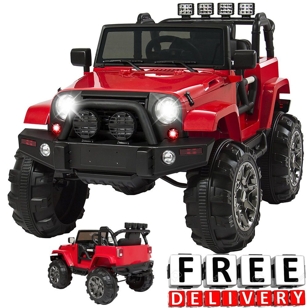 Jeep toys for kids  Battery Powered Jeep V Toddler Ride On Toys Remote Electric Light