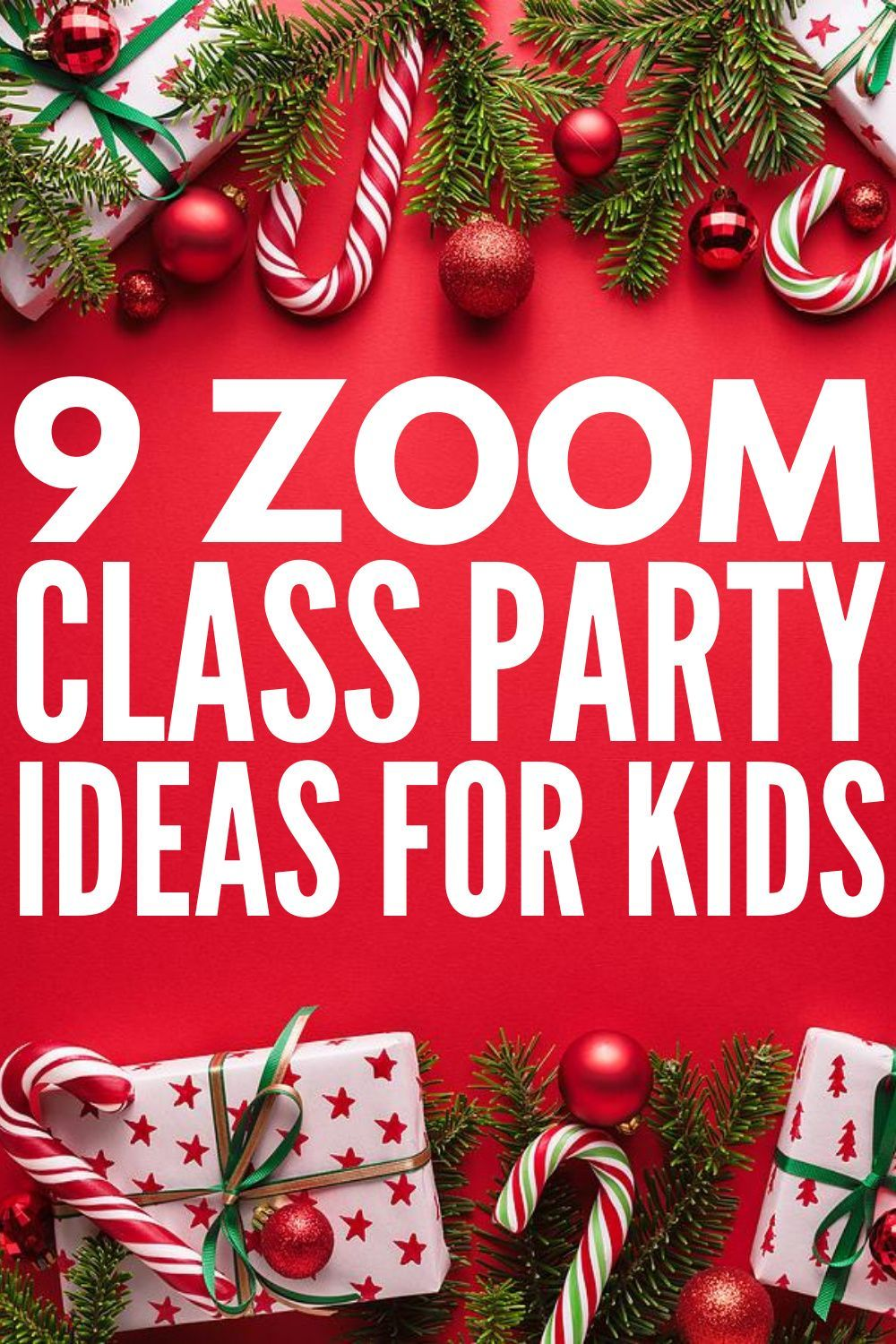 9 Easy And Fun Virtual Classroom Party Ideas Your Students Will Love In 2020 School Christmas Party Classroom Party Christmas School