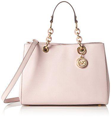 4967dcb74f50 ... inexpensive michael kors cynthia medium satchel saffiano leather  blossom gold a8621 d8d41