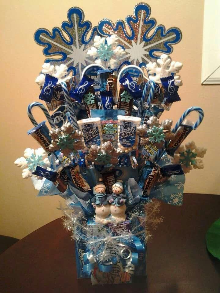 Winter Candy Bouquet | HoliDaze | Pinterest