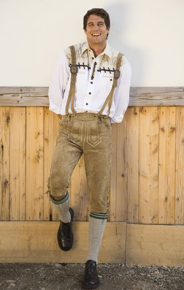 How to make a lederhosen costume for Halloween or Oktoberfest | eHow UK  sc 1 st  Pinterest & How to make a lederhosen costume for Halloween or Oktoberfest | eHow ...