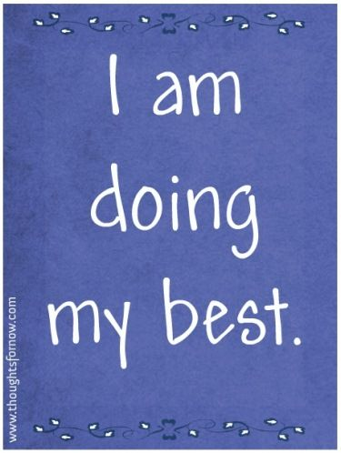 Daily Affirmations - 18 July 2013