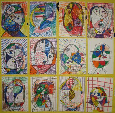 Picasso Self Portraits For Kids Picasso self p.