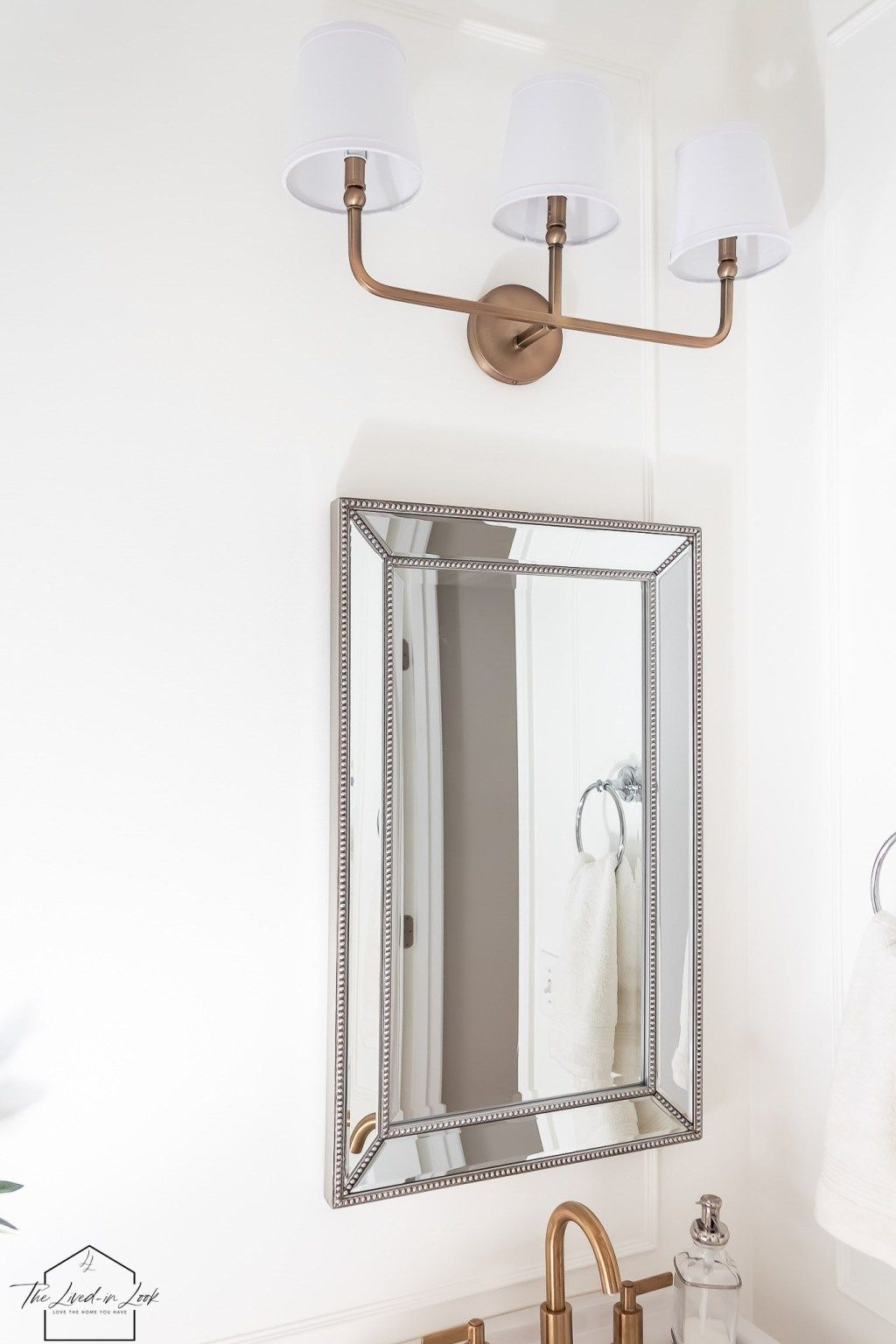 Photo of A guide to mixing metals in the bathroom The lived look