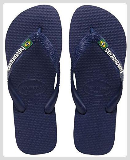 Havaianas - Women's Slim Brasil Logo - Sandalen Gr 35/36 - EU 37/38 rot ctHvD8wk