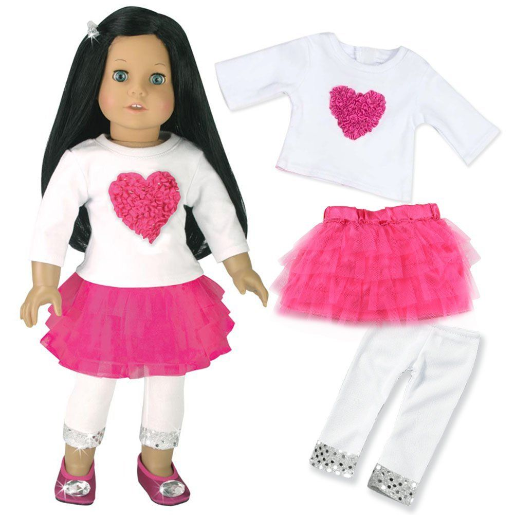 135ccb4a5 Amazon.com  18 Inch Doll Clothes Outfit