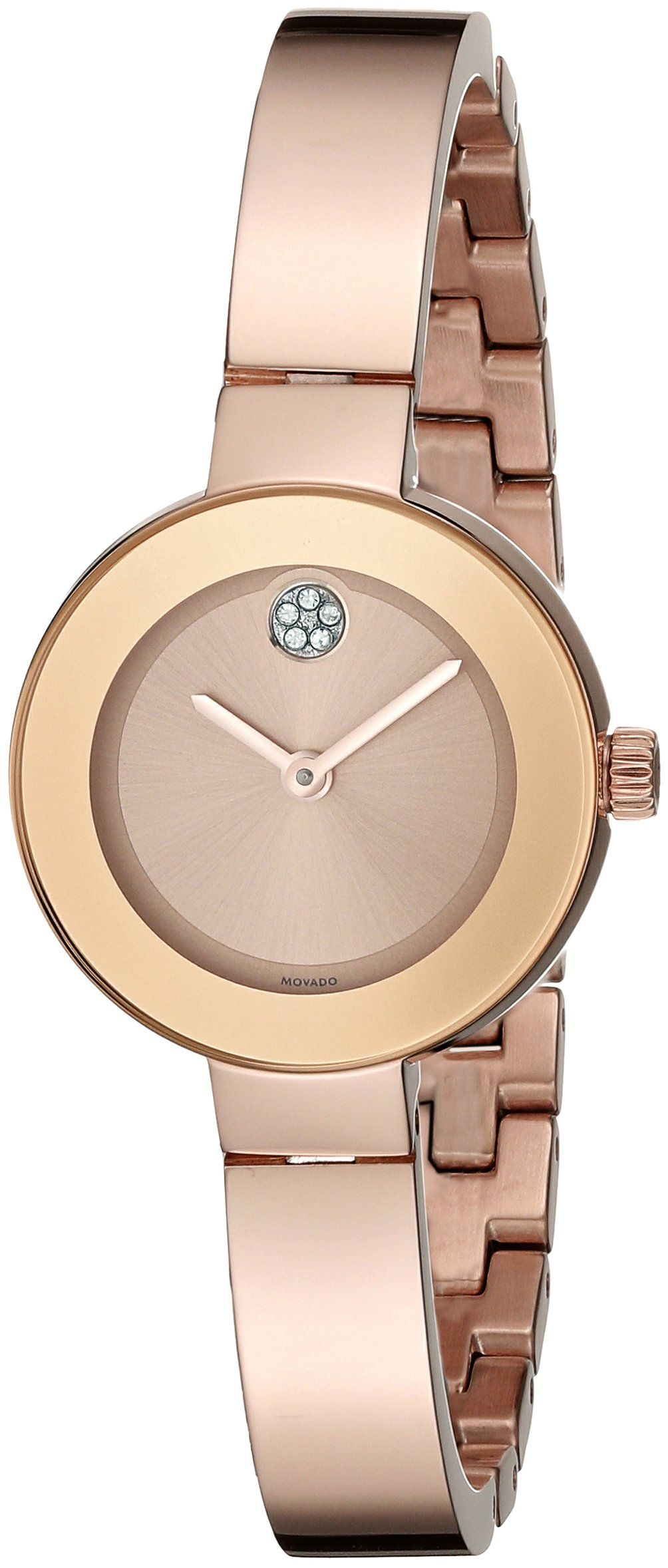 d4898172705 Amazon.com  Movado Women s 3600286 Rose Gold Watch with Swarovski Crystal  Accents  Watches. Óculos FemininoRelógios ...