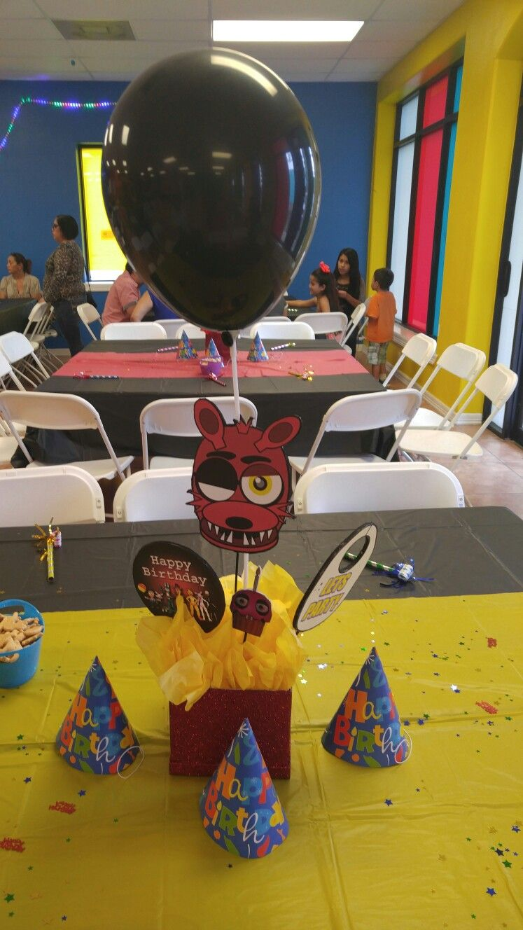 Ideas five nights at freddy party - 10th Birthday Birthday Party Ideas Iname Marian Breastfeeding Birthdays Five Nights At Freddy S