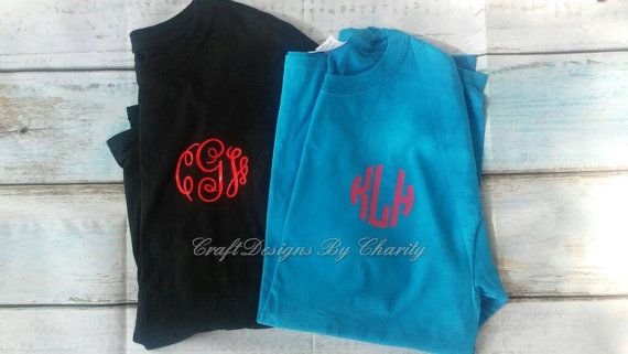 Monogram shirts-Monogrammed Shirt - Monogram Shirt - Monogram T-shirt - Monogram Tshirt - Personalized Shirt - Monogram Tee