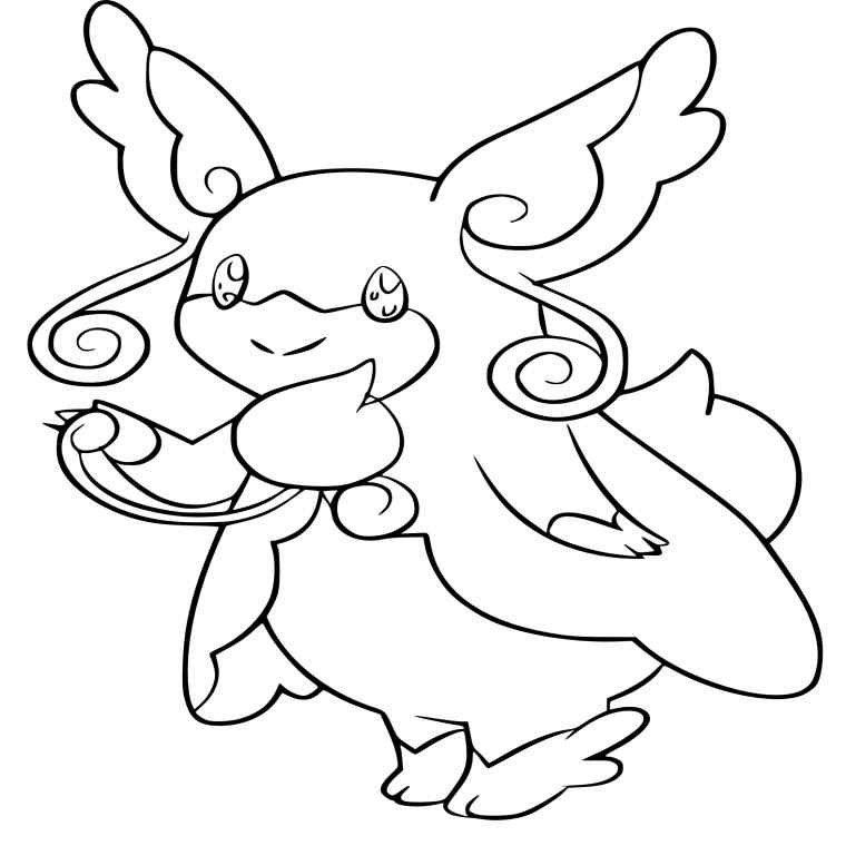 Coloriage Pokemon Nymphali