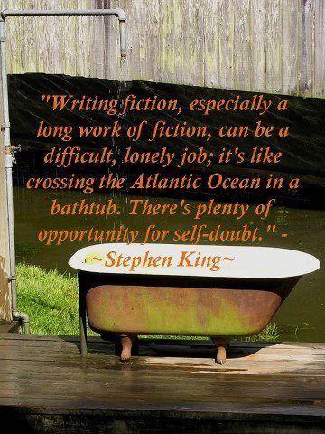 writing fiction...