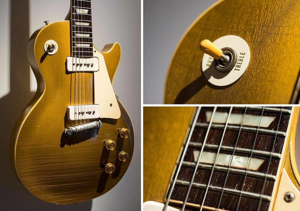 David Gilmour S 1955 Les Paul Used On The Solo Of Another Brick In