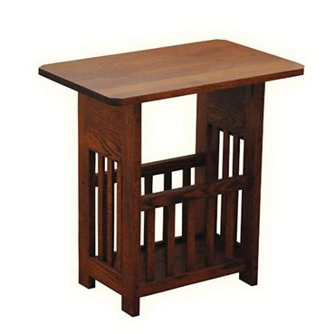 Solid Wood Magazine Rack Table Mission Style Wood Magazine Magazine Table Mission Style