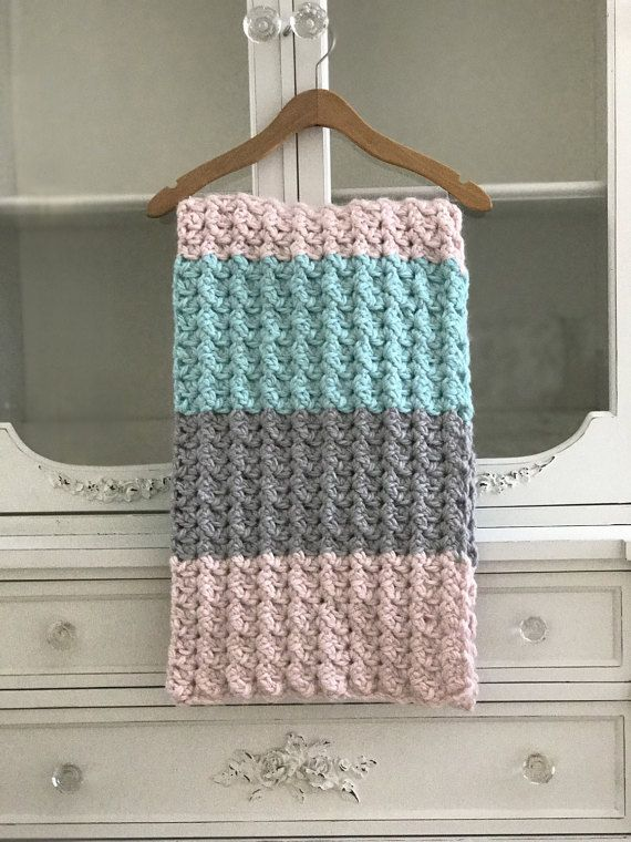 This Listing Is For A Crochet Pattern Comfy Cozy Baby Blanket Or Throw Pattern Baby Blanket Crochet Pattern Crochet Blanket Patterns Chunky Blanket Pattern