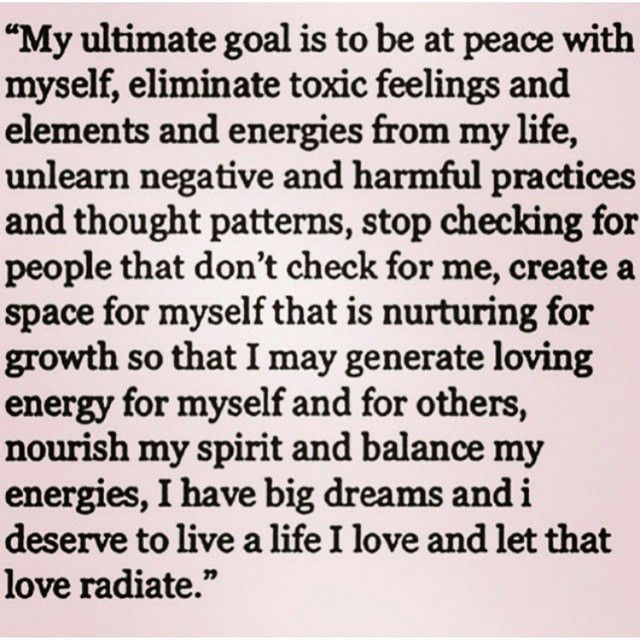 my ultimate goal is to be at peace myself google search life goals list