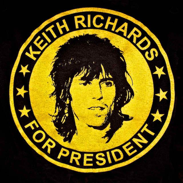 keith richards for president - Google Search
