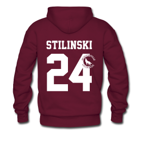 Stilinski 24 Sweater Girls Black Teen Wolf Vampire Werwolf Dylan O`Brien Styles