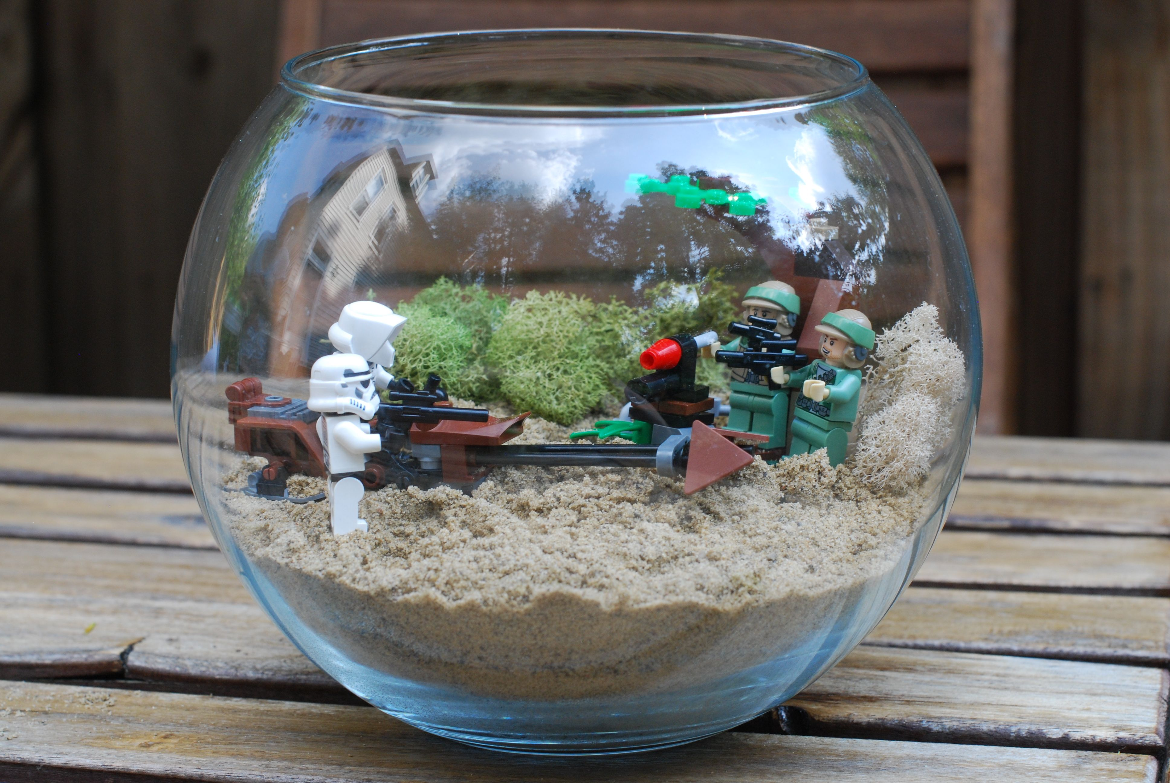 Very cool could make a star wars scene in glass bowl