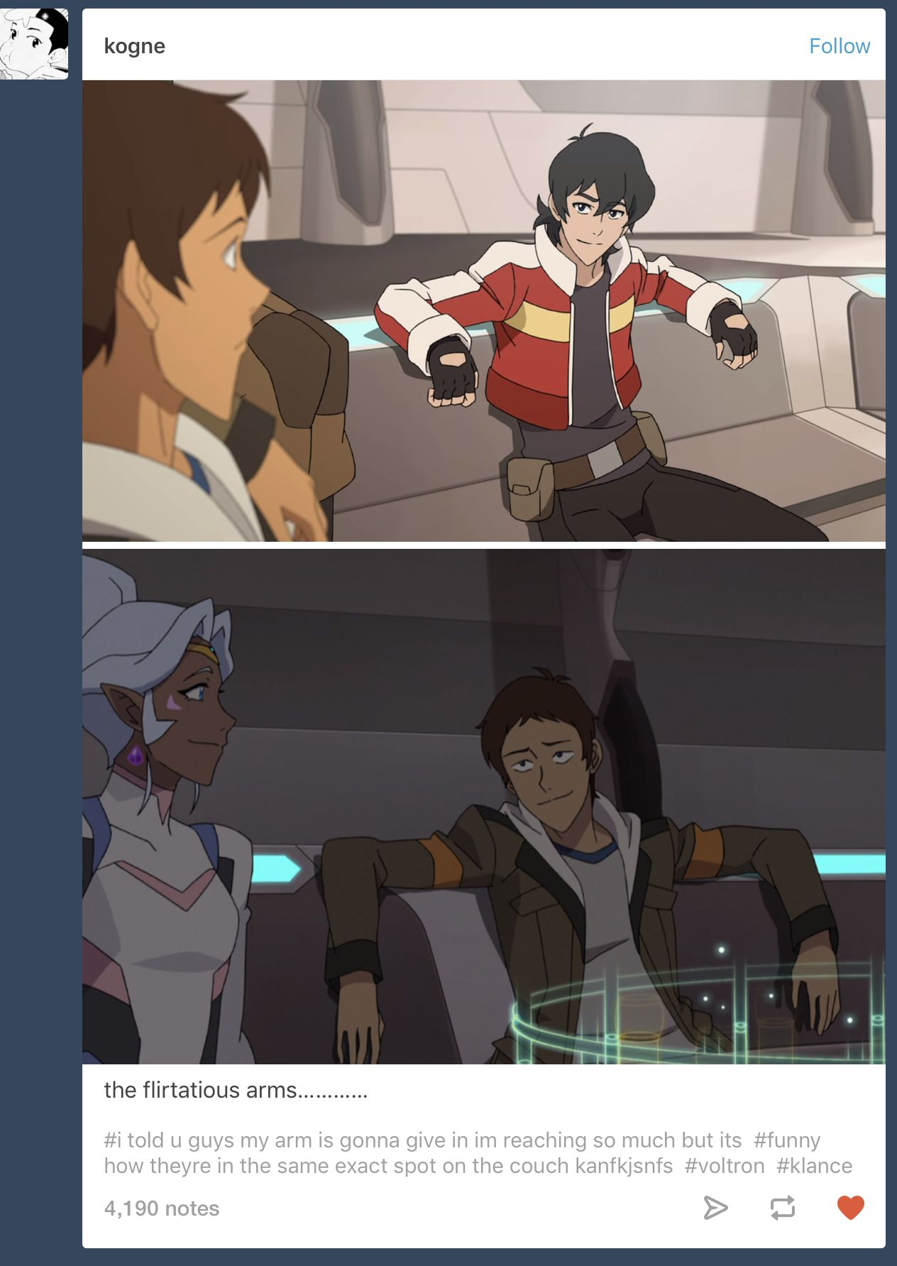 Oh! My poor Keith is crushing so hard and Lance doesn't even