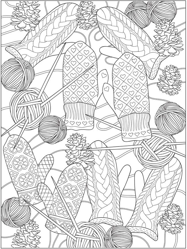 Welcome to Dover Publications | Coloriages | Pinterest | Colorear ...