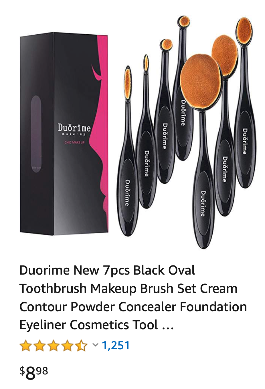 Oval Makeup Brushes, toothbrush makeup brushes, cheap oval
