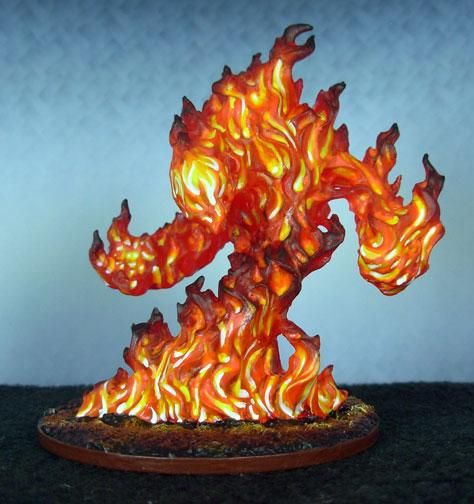Bones, Reaper, Fire Elemental   Misc Minis   Pinterest ...