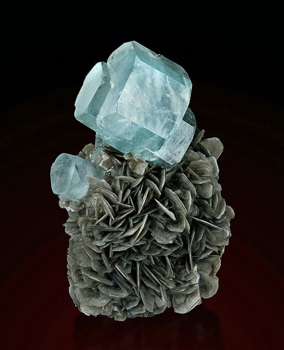 Aquamarine and Muscovite