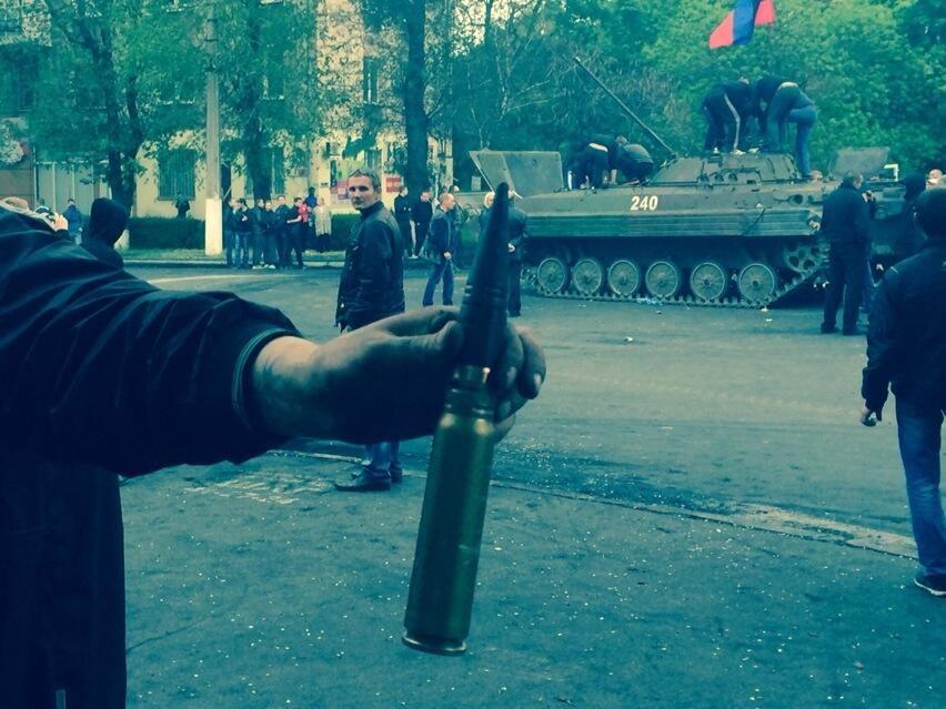 Ukraine Mariupol May 9 2014