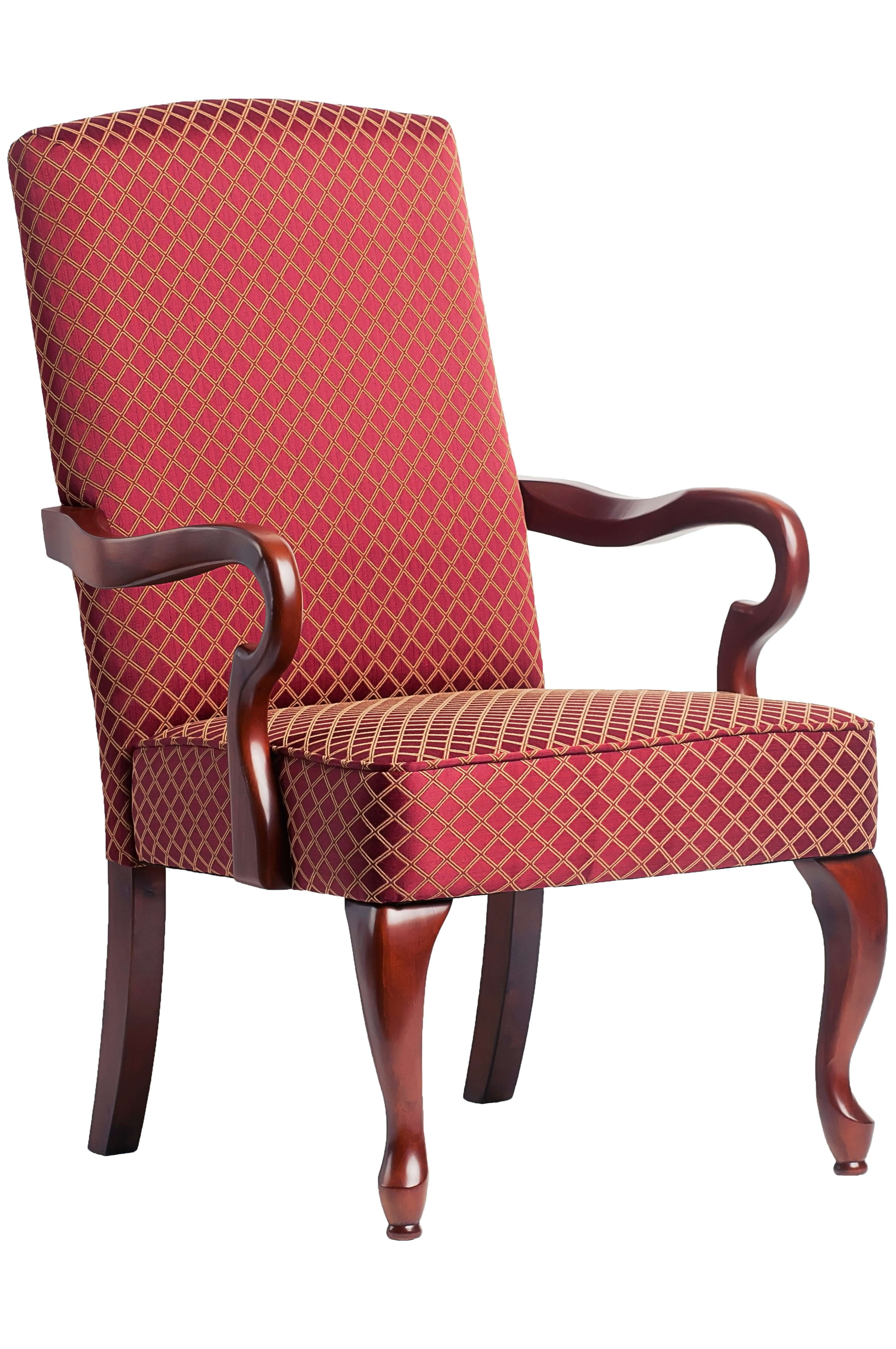 Comfort Pointe Derby Red Gooseneck Arm Chair 6700 Red Goedekers