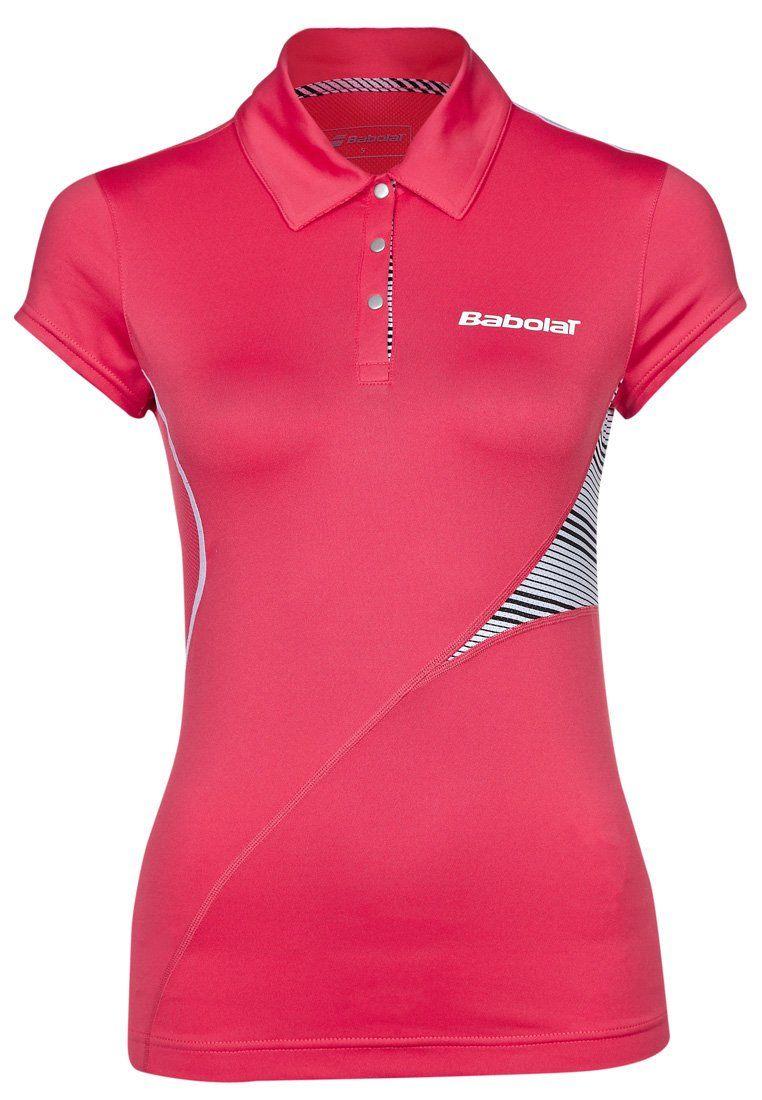 Vêtement sport femme Babolat - Polo rose  51676cf70b6