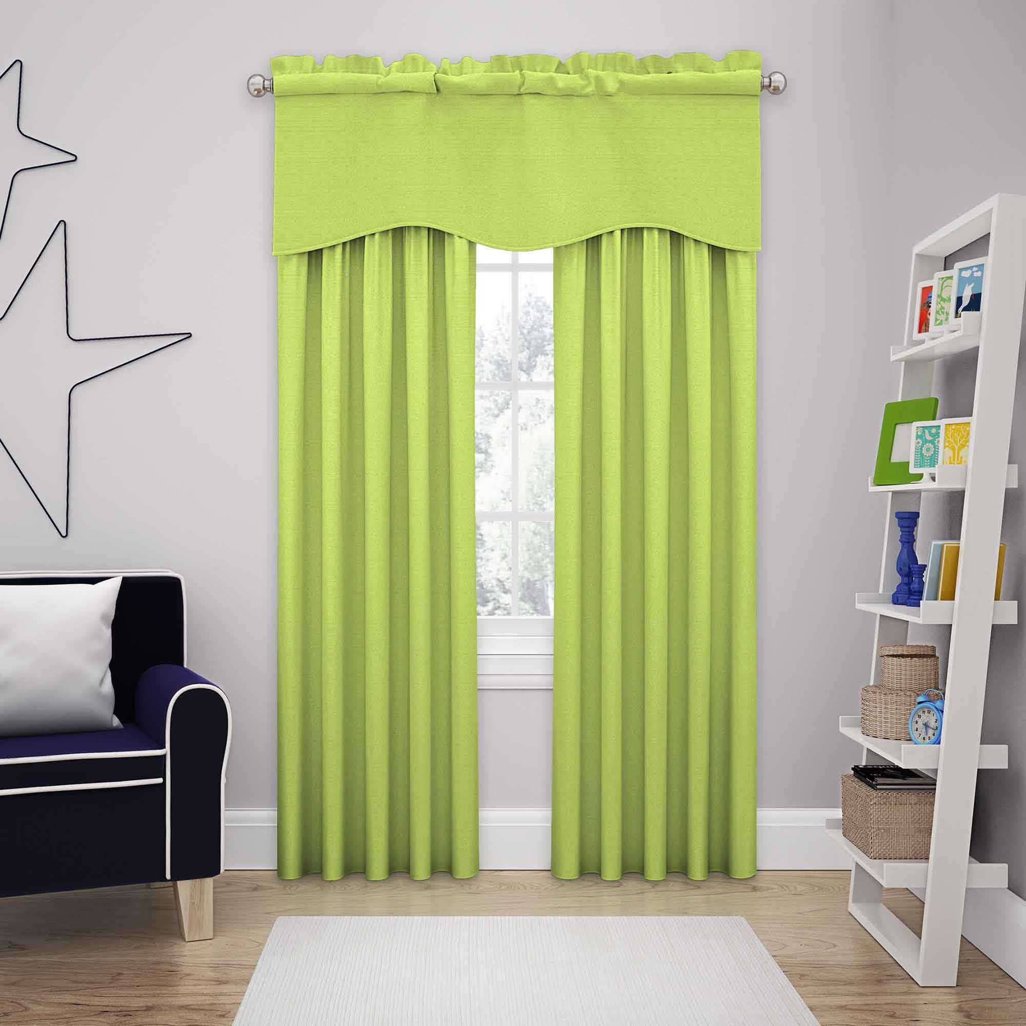 Bed bath and beyond window curtains  solarshield kate rod pocket room darkening window curtain panel and