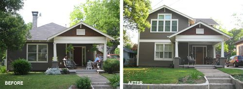 Bungalow Second Story Addition Google Search Architecture - Bungalow house addition ideas
