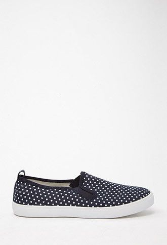 c42692adac Girls Polka Dot Slip-Ons (Kids) | Forever 21 girls - 1000167161 ...