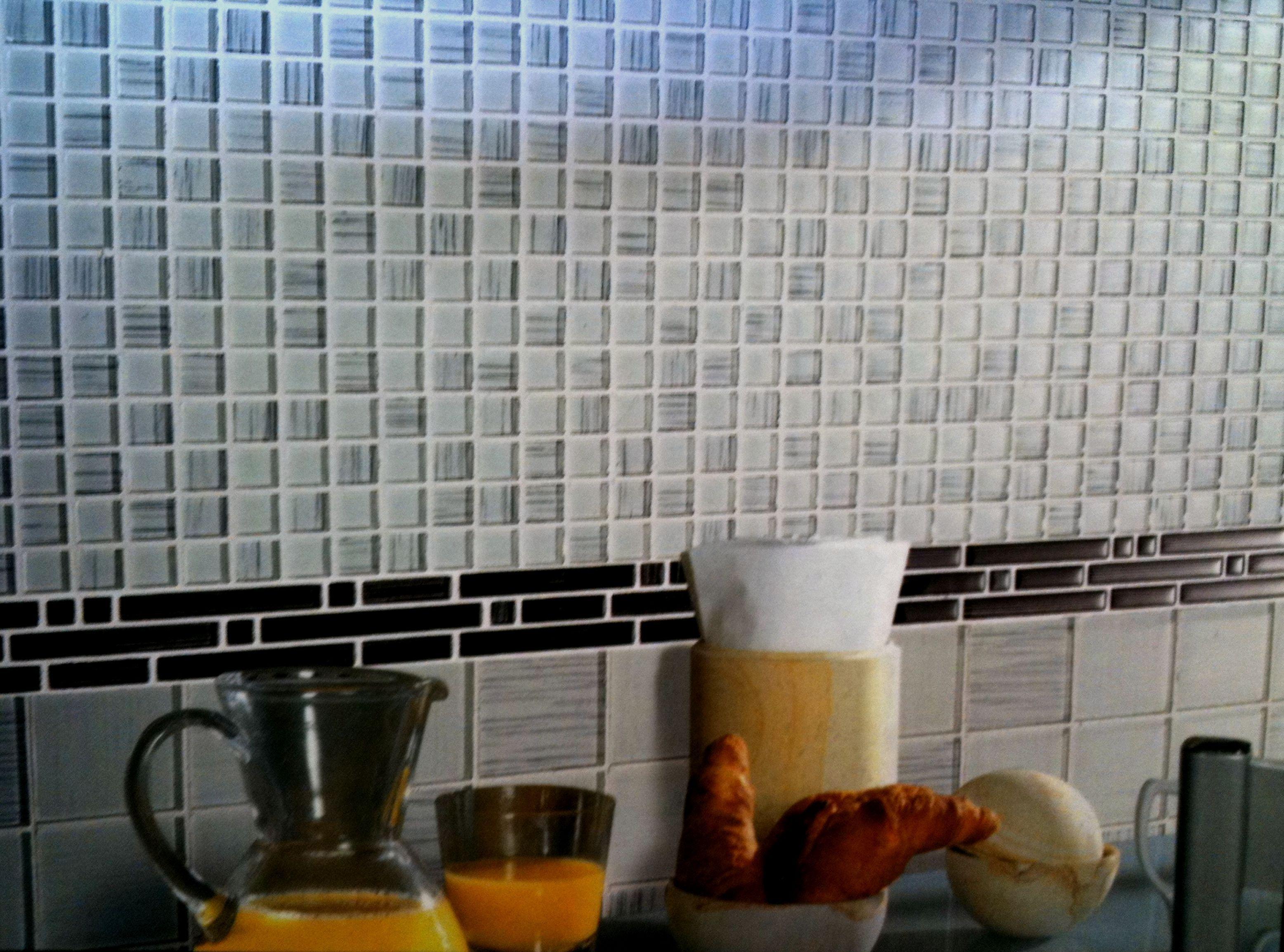 Glass Mosaic Kitchen Backsplash From Installing Glass Backsplash In