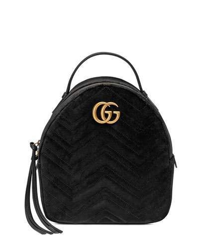 1cec899706b Gucci GG Marmont Quilted Velvet Backpack  Gucci  ShopStyle  MyShopStyle  click link to see