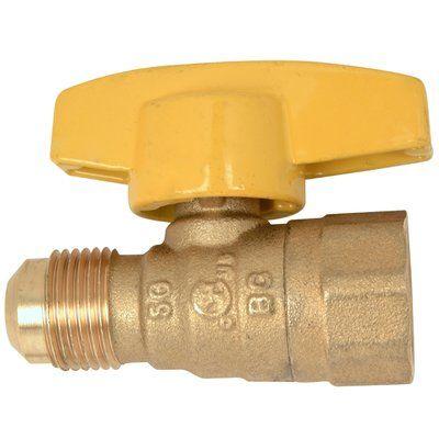 Brasscraft Water Heater Gas Ball Valve Wayfair In 2020 Water Heater Valve Gas