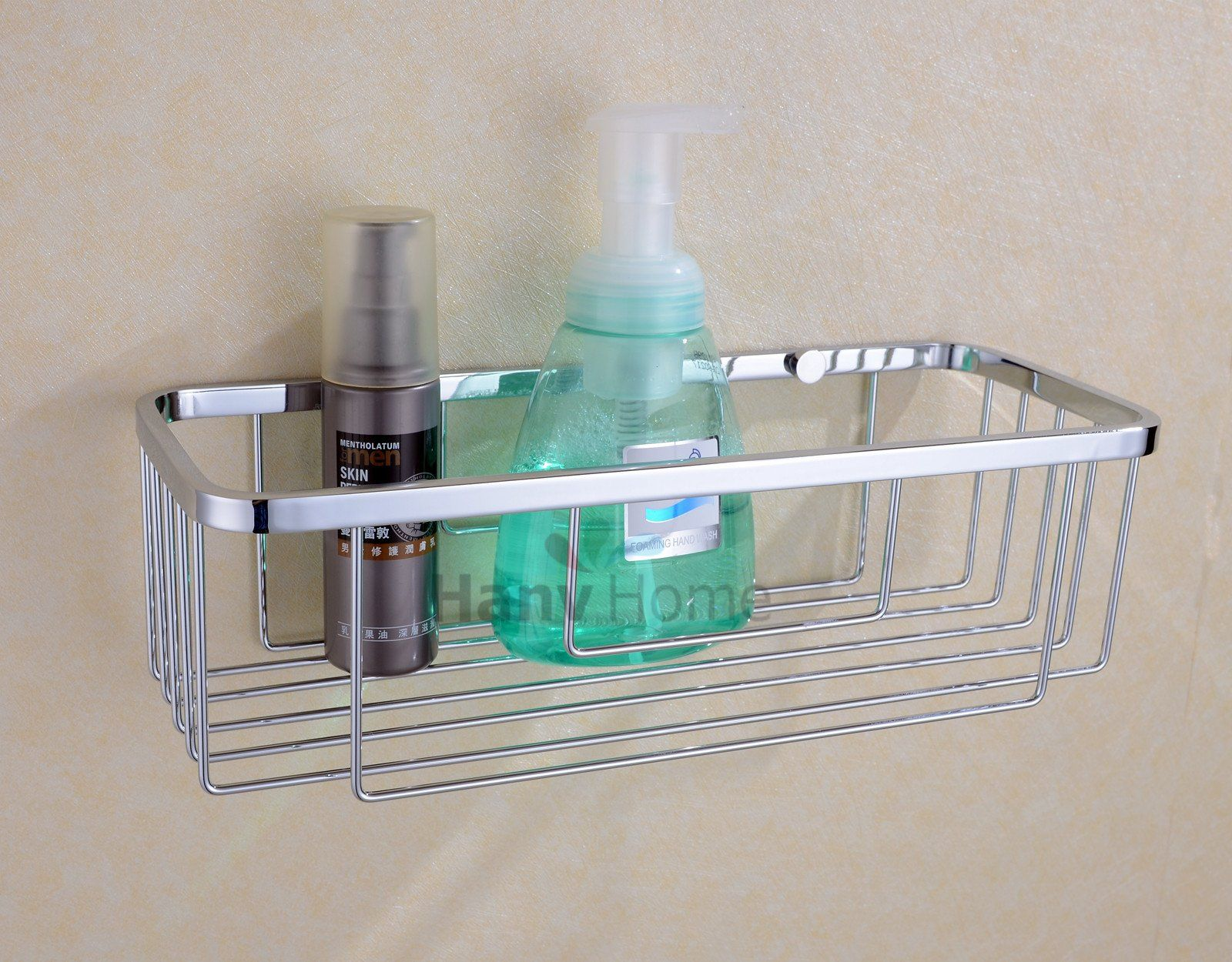Amazon.com - Hane Bathroom Wall Mounted Single Tier Shower Caddy ...