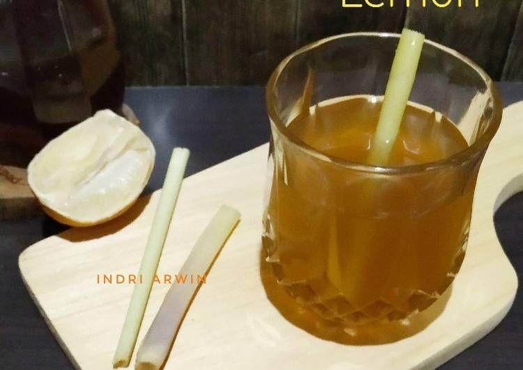 Resep Wedang Jahe Sereh Lemon Mantap Resep Wedang Jahe Lemon Jahe