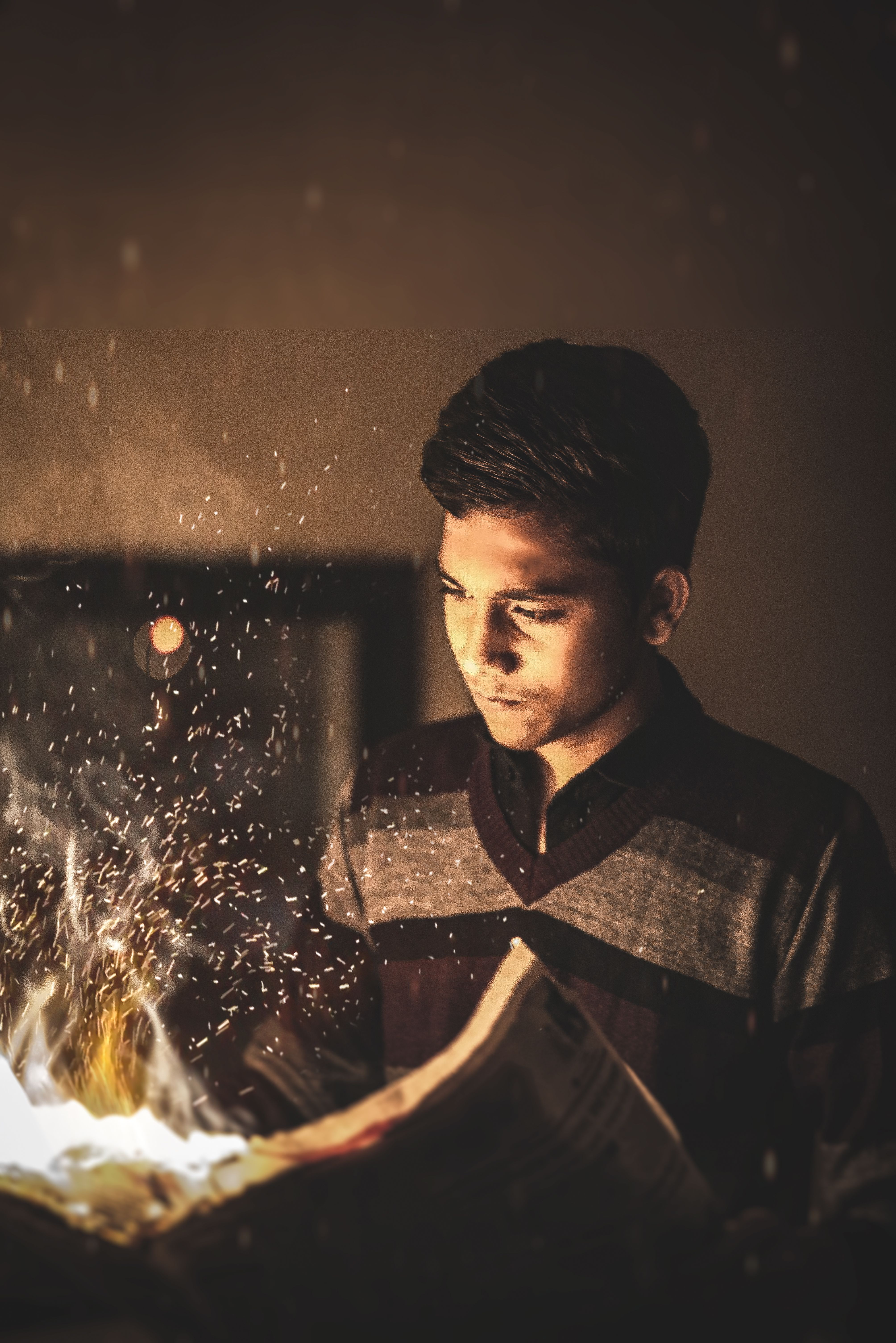 Paper Fire Portrait Photography Fashion Fade Guys Creative Newspaper Imagine Photoediting Portrait Portrait Photography Instagram Inspiration