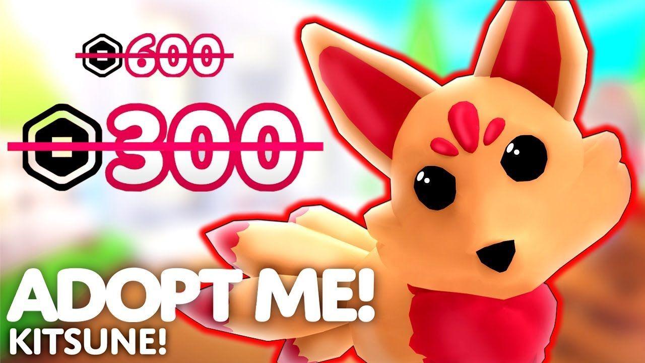 Como Tener El Nuevo Pet Kitsune Gratis En Adopt Me Actualizacion Roblox 2020