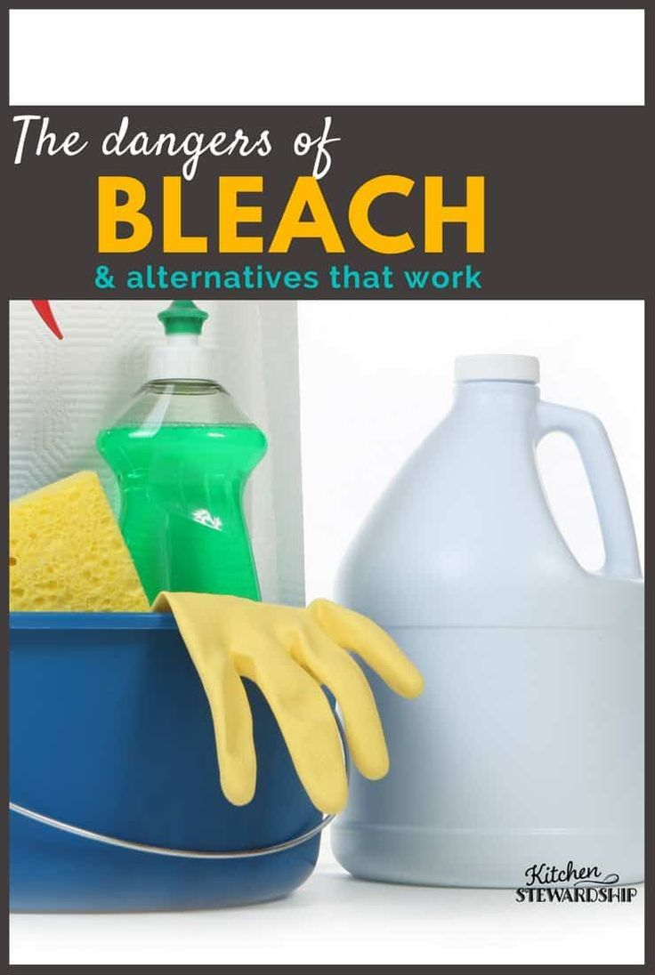 Natural Alternatives to Bleach Found Equally Effective