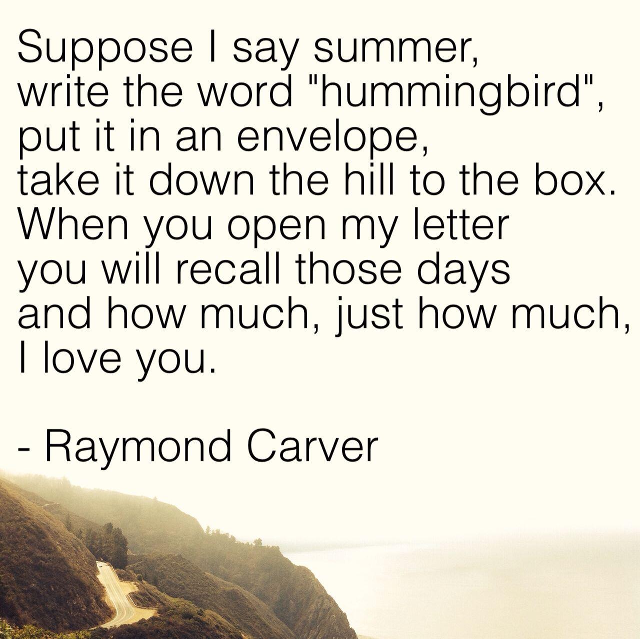 boxes raymond carver