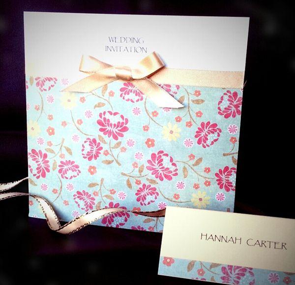 Ideas For Handmade Wedding Invitations Wedding Invites Pinterest