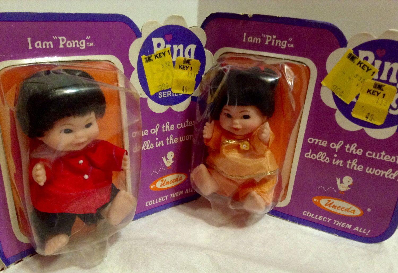 Uneeda 1960's HONG KONG Made Dolls Asian Doll Version ...