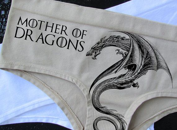 cddf96060be6 Mother of Dragons ,Game of Thrones Panties Winter is coming Game of Thrones  Underwear undies