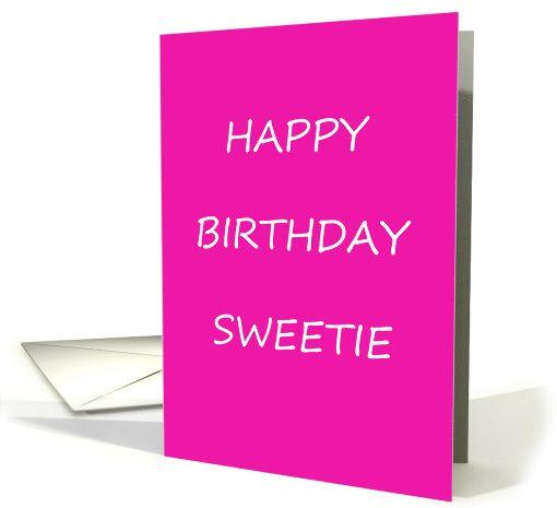 Gay lesbian Happy Birthday Sweetie card – Gay Happy Birthday Card