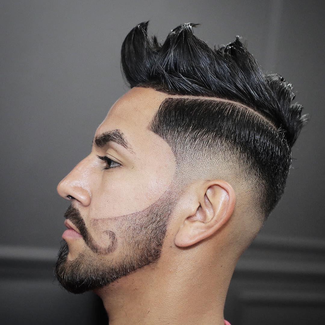 23 Edgy Men's Haircuts