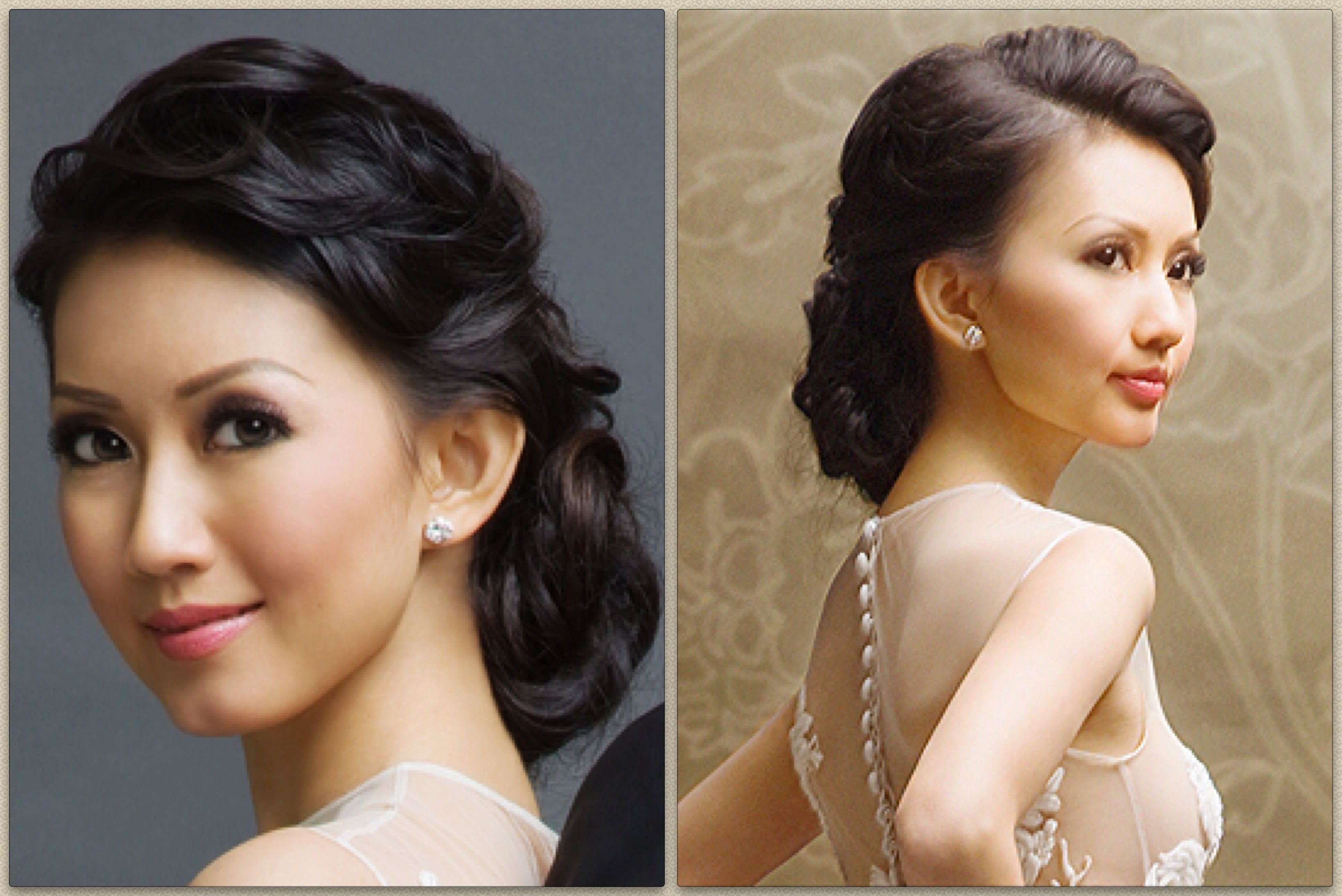 Bridal Make Up And Hair For Priscilla Jakarta Ayana Bali Indonesia Artistic Hair Classy Makeup Wedding Makeup