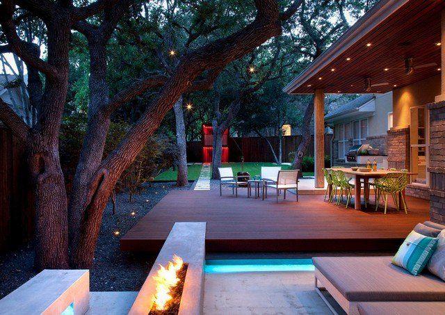 moderne Holz Terrasse anlegen Ideen Holzarten   Garten ...